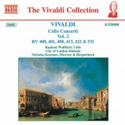 Vivaldi: Cello Concertos, Vol.  2 - CD