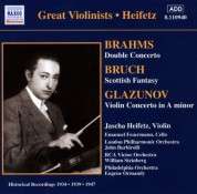 Jascha Heifetz: BRAHMS / GLAZUNOV: Violin Concertos (Heifetz) (1934, 1939) - CD