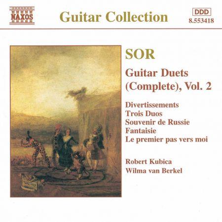Sor: Guitar Duets, Vol.  2 - CD