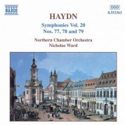 Haydn: Symphonies, Vol. 20 (Nos. 77, 78, 79) - CD