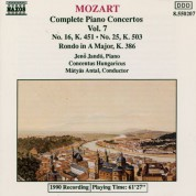 Jeno Jando: Mozart: Piano Concertos Nos. 16 and 25 / Rondo, K. 386 - CD