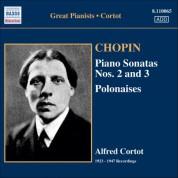 Alfred Cortot: Chopin: Piano Sonatas No. 2 and 3 / Polonaises (Cortot, 78 Rpm Recordings, Vol. 4) (1923-1947) - CD