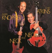 Chet Atkins, Mark Knopfler: Neck And Neck (Translucent Blue Vinyl) - Plak