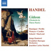 Handel: Gideon (Compiled and Arr. by J. C. Smith) - CD