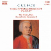 Çeşitli Sanatçılar: Bach, C.P.E.: Sonatas for Flute and Harpsichord, Wq. 83-87 - CD