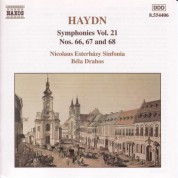Haydn: Symphonies, Vol. 21 (Nos. 66, 67, 68) - CD