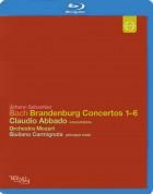 Orchestra Mozart, Giuliano Carmignola: J.S. Bach: Brandenburg Concertos 1-6 - BluRay
