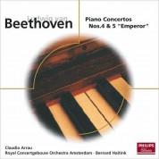 Claudio Arrau, Bernard Haitink, Royal Concertgebouw Orchestra: Beethoven: Piano Concertos Nos.4 & 5 - CD
