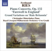 Christopher Hinterhuber: Ries: Piano Concertos, Vol. 3 - CD