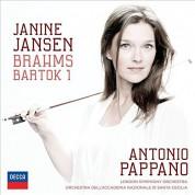 Janine Jansen: Brahms, Bartok: Violin Concerto - CD