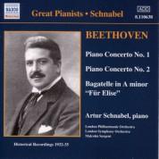 Beethoven: Piano Concertos Nos. 1 and 2 (Schnabel) (1932, 1935) - CD