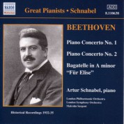 Beethoven: Piano Concertos Nos. 1 and 2 (Schnabel) (1932, 1935) - CD