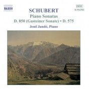 Schubert: Piano Sonatas, D. 575 and D. 850 - CD