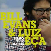 Bill Evans, Luiz Eça: Piano Four Hands - CD