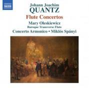 Concerto Armonico, Mary Oleskiewicz, Miklós Spányi: Quantz: Flute Concertos - CD