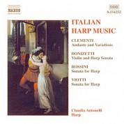 Claudia Antonelli: Italian Harp Music - CD