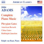 Ralph van Raat: Adams, J.: Piano Music (Complete) - CD