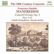 Manfredini: Concerti Grossi Op. 3, Nos. 1-12 - CD