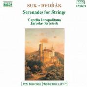 Suk / Dvorak: Serenades for Strings - CD