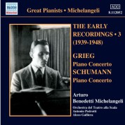 Arturo Benedetti Michelangeli: Early Recordings, Vol. 3 (1939-1942) - CD