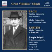 Bach, J.S. / Tartini: Violin Concertos (Szigeti) (1937-1954) - CD