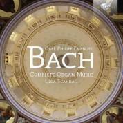 Luca Scandali: C.P.E. Bach: Complete Organ Music - CD