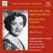 Ferrier, Kathleen: Songs of the British Isles (1949-1952) - CD