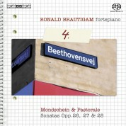 Ronald Brautigam: Beethoven: Complete Works for Solo Piano, Vol. 4 on forte-piano - SACD