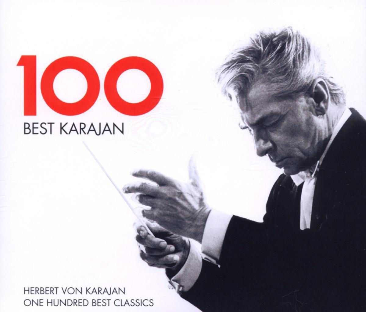 herbert von karajan best 100 karajan cd opus3a. Black Bedroom Furniture Sets. Home Design Ideas