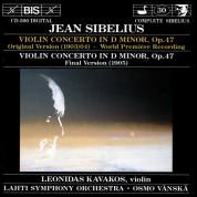 Leonidas Kavakos, Lahti Symphony Orchestra, Osmo Vanska: Sibelius - Violin Concerto in D minor, Op.47 - CD