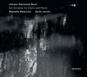 Michelle Makarski, Keith Jarrett: Bach: Six Sonatas for Violin and Piano - CD