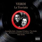Verdi: Traviata (La) (Di Stefano, Stella) (1955) - CD