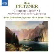 Britta Stallmeister: Pfitzner: Complete Lieder, Vol. 1 - CD