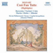 Mozart: Cosi Fan Tutte (Highlights) - CD