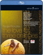 Prokofiev: The Love for Three Oranges - BluRay