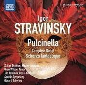 Gerard Schwarz, Seattle Symphony Orchestra: Stravinsky: Pulcinella - Scherzo fantastique - CD