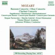 Vienna Mozart Academy: Mozart: Bassoon Concerto / Oboe Concerto / Clarinet Concerto - CD