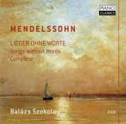 Balázs Szokolay: Mendelssohn: Lieder ohne Worte (Complete) - CD