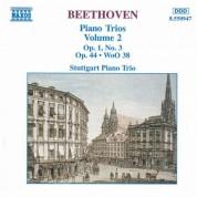 Beethoven: Piano Trio, Op. 1, No. 3 / Piano Trio in E-Flat Major / Variations, Op. 44 - CD