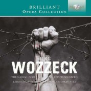 Theo Adam, Gisela Schröter, Reiner Goldberg, Leipzig Radio Symphony Chorus, Leipzig Radio Symphony Orchestra, Herbert Kegel: Berg: Wozzeck - CD