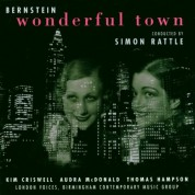 London Voices, Birmingham Contemporary Music Group, Sir Simon Rattle: Bernstein: Wonderful Town - CD