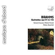 Gerard Causse, Michel Portal, Melos Quartet: Brahms: Quintettes op.111 & 115 - CD