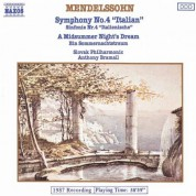 Slovak Philharmonic Orchestra: Mendelssohn: Symphony No. 4 / A Midsummer Night's Dream (Excerpts) - CD