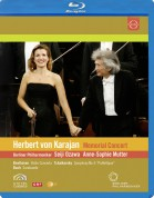 Anne-Sophie Mutter, Berliner Philharmoniker, Seiji Ozawa: Karajan Memorial Concert - BluRay