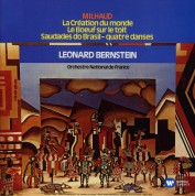 Orchestre National de France, Leonard Bernstein: Milhaud: La Creation du Monde - CD
