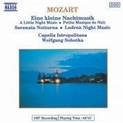 Capella Istropolitana: Mozart: Kleine Nachtmusik (Eine) / Serenata Notturna / Divertimento No. 10 - CD
