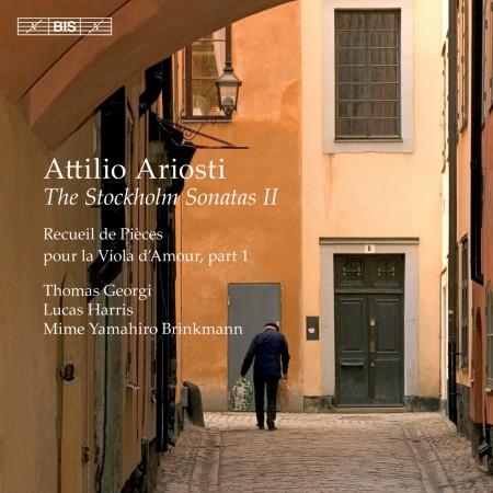 Thomas Georgi, Lucas Harris, Mime Yamahiro Brinkmann: Ariosti: The Stockholm Sonatas, Vol. 2 - CD