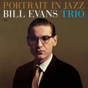 Bill Evans: Portrait In Jazz + 1 Bonus Track! - Limited Edition in Transparent Green Colored Vinyl. - Plak