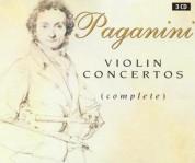 Alexandre Dubach, Orchestre Philharmonique de Monte-Carlo, Michel Sasson, Lawrence Foster: Paganini: Violin Concertos (Complete) - CD