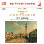 Vivaldi: Cello Concertos, Vol.  3 - CD